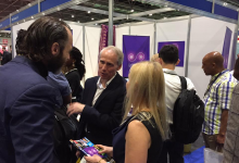 SOURCE TV AT THE BUSINESS SHOW LONDON EXCEL 16 & 17 MAY 2018