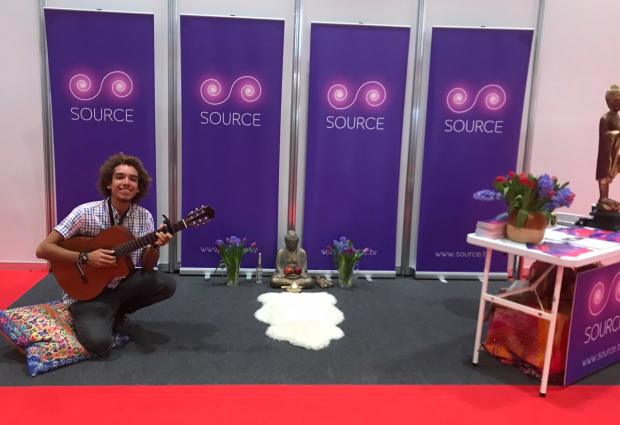 SOURCE TV AT THE BUSINESS SHOW LONDON