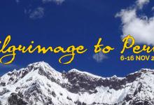 Pilgrimage to Peru 2016