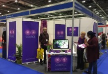 SOURCE AT THE BUSINESS SHOW LONDON EXCEL 17/18 MAY 2017