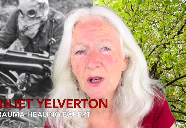 'WAR AND TRAUMA' BY TRAUMA HEALING EXPERT JULIET YELVERTON