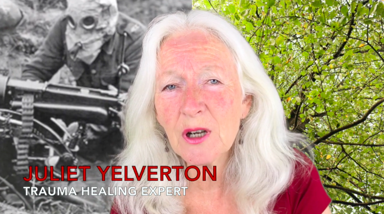 'WAR AND TRAUMA' BY TRAUMA HEALING EXPERT JULIET YELVERTON