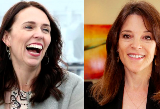 IS MARIANNE WILLIAMSON DESTINED TO BE AMERICA'S JACINDA ARDERN?