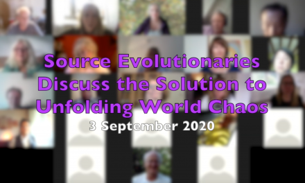 Source evolutionaries discuss the solution to unfolding world chaos